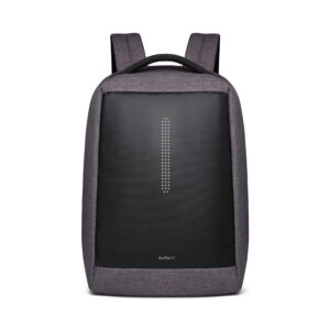 ANTLER Anti theft with USB Charger Laptop Backpack (Grey)