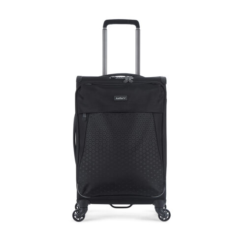 "Antler Oxygen Ultra Light Cabin Size 20"" Softcase Luggage (Black)"